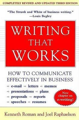 Writing That Works - How to Communicate Effectively in Business
