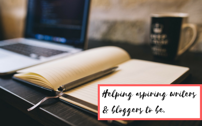 Helping aspiring writers and bloggers-to-be