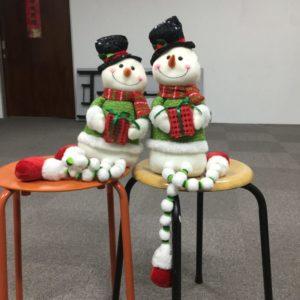 Mr & Mrs Snowman
